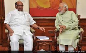 PM मोदी से मिले पवार, बोले-किसानों की मदद कीजिए मोदी जी, मैं आपका आभारी रहूंगा