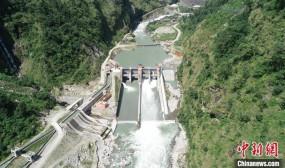 नेपाल में चीन के सहयोग से निर्मित पन बिजली परियोजना की शुरुआत