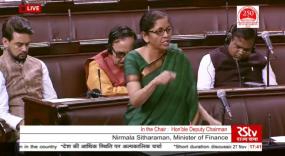 सीतारमण बोलीं - भारतीय अर्थव्यवस्था हुई धीमी, लेकिन मंदी का कोई खतरा नहीं
