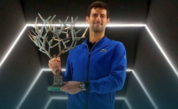 वर्ल्ड नंबर-1 जोकोविच ने जीता पेरिस मार्स्टस का खिताब