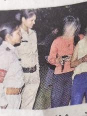 सादी वर्दी में पहुँची पुलिस -उद्यानों में अँधेरे में छिपे बैठे जोड़ोंं को फटकार, दी समझाइश