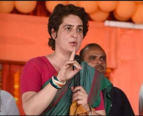 प्रियंका का केंद्र सरकार पर हमला- चंगा सी बोलने वाले 'बेरोजगारी' पर चुप क्यों ?