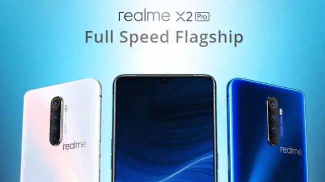 Realme X2 Pro स्मार्टफोन भारत में हुआ लॉन्च, इसमें है 64 मेगापिक्सल कैमरा