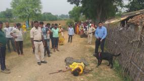 कुल्हाड़ी मारकर महिला की निर्मम हत्या, गांव में फैली सनसनी