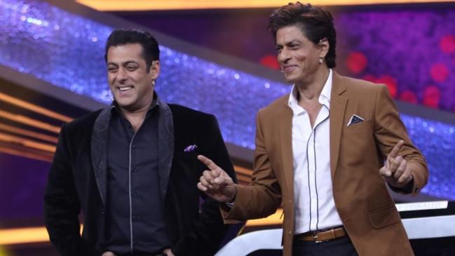 सलमान ने शाहरुख के लिए शेयर किया वीडियो, बताया उन्हें रियल हीरो