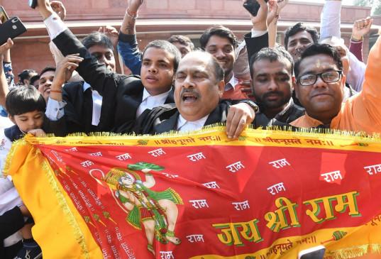 अयोध्या फैसले का संघ ने स्वागत किया