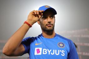 शिवम दुबे का अंतर्राष्ट्रीय क्रिकेट में पदार्पण