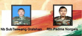 सियाचिन में फिर हिमस्खलन, बर्फ के नीचे दबने से दो जवान शहीद