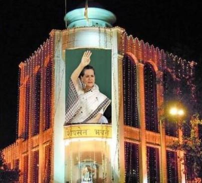 Fake News: क्या शिवसेना भवन में लगी सोनिया गांधी की तस्वीर?