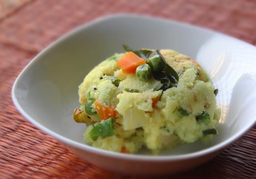 नाश्ते में बनाएं 'साउथ इंडियन उपमा'