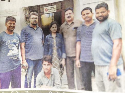 एसटीएफ ने पकड़ा 7 लाख रुपए का 70 किलो गाँजा