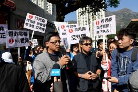 हिंसा रोकना हांगकांग का सबसे महत्वपूर्ण कार्य