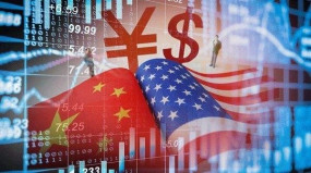 चीन और अमेरिका के बीच आर्थिक वार्ता के नेताओं के बीच बातचीत