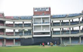 जेटली स्टेडियम की पिच से टीम इंडिया प्रभावित
