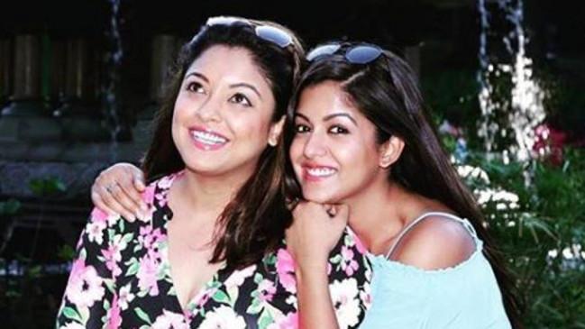 इशिता दत्ता के शूटिंग सेट पर पहुंची बहन तनुश्री, एक्ट्रेस ने तनु को बताया अपनी बैकबोन