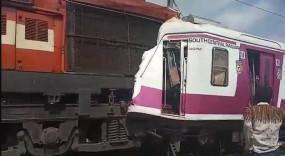 हैदराबाद : काचेगुडा रेलवे स्टेशन पर दो ट्रेनें आपस में टकराई, कई घायल