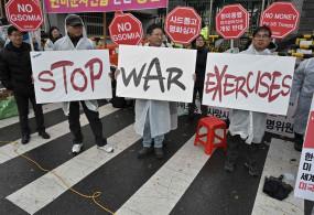 अमेरिका, दक्षिण कोरिया का संयुक्त सैन्याभ्यास स्थगित