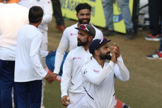 डे-नाइट टेस्ट के लिए सबसे पहले कोलकाता पहुंचे कोहली और रहाणे