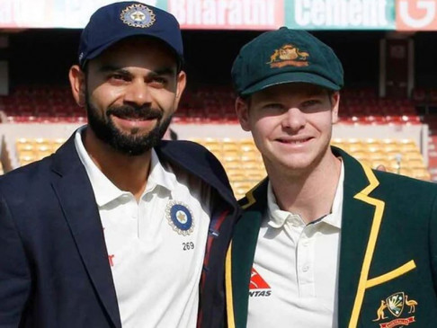 कोहली ICC टेस्ट रैंकिंग में स्मिथ के बेहद करीब, मयंक पहली बार टॉप-10 में शामिल