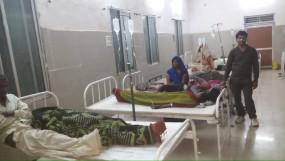 ग्राम में उल्टी दस्त ने मचाया तण्डव - बीमार मरीजो की संख्या 60 से हुई पार