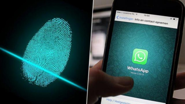 Image result for Whatsapp ऐंड्रॉयड यूजर्स को मिला फिंगरप्रिंट लॉक फीचर