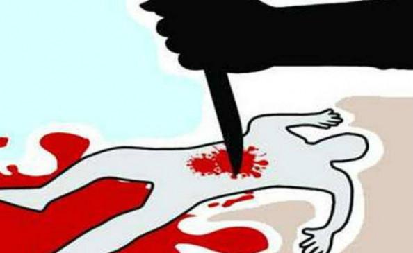 चाकू से हमला कर युवक की हत्या, क्षेत्र मेें तनाव
