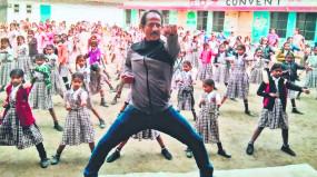 छात्राओं को दिया जा रहा नि:शुल्क आत्मसुरक्षा मार्शल आर्ट प्रशिक्षण