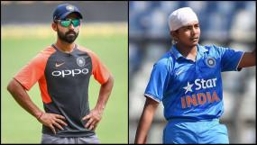 मुंबई रणजी टीम में बतौर सलामी बल्लेबाज चुने गए रहाणे और शॉ