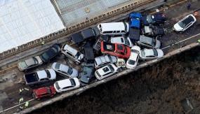 अमेरिका: वर्जीनिया हाईवे में धुंध के कारण भिड़े 61 वाहन, 51 घायल