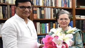 थोरात की सोनिया गांधी से हुई मुलाकात, उपमुख्यमंत्री पद पर नियुक्ति नागपुर अधिवेशन के बाद