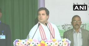 गुवाहाटी: राहुल गांधी का RSS-BJP पर हमला, बोले- असम को चड्डी वाले नहीं चलाएंगे