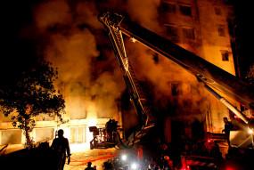 बांग्लादेश: आग की चपेट में आई इलेक्ट्रिक पंखों की फैक्ट्री, दस से ज्यादा लोगों की मौत