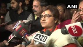 ब्यावरा विधायक दांगी के खिलाफ साध्वी का धरना खत्म, कहा- महिलाओं के सम्मान में जारी रहेगी लड़ाई