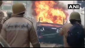 CAA के विरोध की आग में जला यूपी, हिंसक प्रदर्शन के दौरान 6 लोगों की मौत