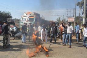 पूंजीपतियों का कर्जा माफ करने वाली केन्द्र सरकार को नहीं दिख रहा किसानों का दर्द