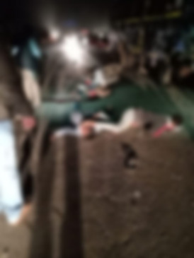 चित्रकूट मार्ग पर बस ने बाइक सवारों को मारी टक्कर, तीन की मौत