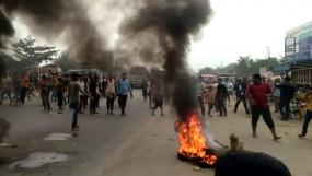 CAA का जबरदस्त विरोध, गुवाहाटी में पांच की मौत, बंगाल में रेलवे स्टेशन में तोड़फोड़