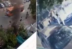 नागरिकता कानूनः पुलिस ने एक हफ्ते बाद वीडियो जारी कर दिखाए दिल्ली जलाने के असली सबूत
