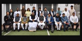 महाराष्ट्र: कांग्रेस के मंत्रियों ने राहुल गांधी से की मुलाकात
