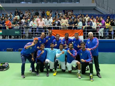 Davis Cup 2019: भारत ने पाकिस्तान को हराकर वर्ल्ड ग्रुप क्वालिफायर में किया प्रवेश