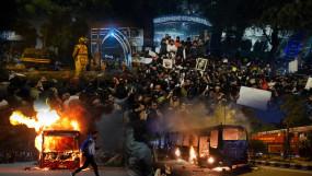 दिल्ली: CAA के विरोध में जामिया यूनिवर्सिटी में भड़की हिंसा, रात भर रहा पुलिस का पहरा