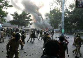 UP: CAA विरोध प्रदर्शन के दौरान की गई फायरिंग, हथियार बरामद