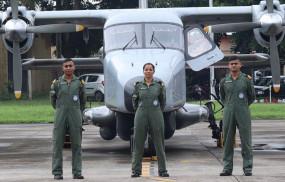 देश की बेटी शिवांगी सिंह ने रचा इतिहास, बनी नेवी की पहली महिला पायलट