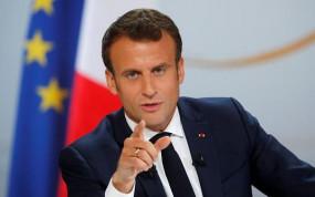 फ्रांस: चरमपंथ के खिलाफ लड़ने के लिए राष्ट्रपति मैक्रॉन ने IS की प्रतिबद्धता पर दिया जोर