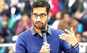 Google के मूल फर्म अल्फाबेट के लिए सुंदर पिचाई का नाम CEO के लिए पेश