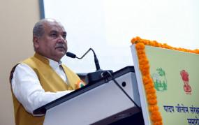 कृषि मंत्री ने कहा- किसानों की आमदनी दोगुनी करने के लिए सरकार ने बनाया रोडमैप