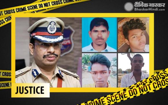 LIVE: हैदराबाद गैंगरेप के चारों आरोपियों को पुलिस ने एनकाउंटर में मार गिराया