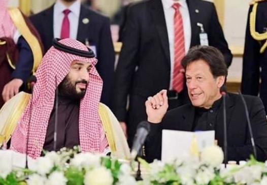 इमरान ने सऊदी क्राउन प्रिंस संग द्विपक्षीय संबंधों, सुरक्षा पर चर्चा की