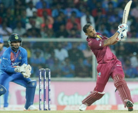 Ind vs WI 2nd T20: वेस्टइंडीज ने भारत को 8 विकेट से हराया, सिमंस ने खेली 67 रनों की पारी