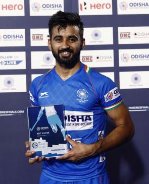 भारतीय हॉकी टीम पिछले साल से बेहतर हुई है : कप्तान मनप्रीत